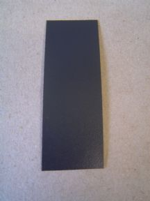 IRON ON EDGING GRAPHITE PER METRE